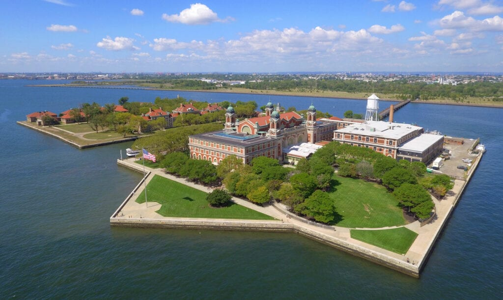 Ellis Island And The Fight Between New York And New Jersey Over It