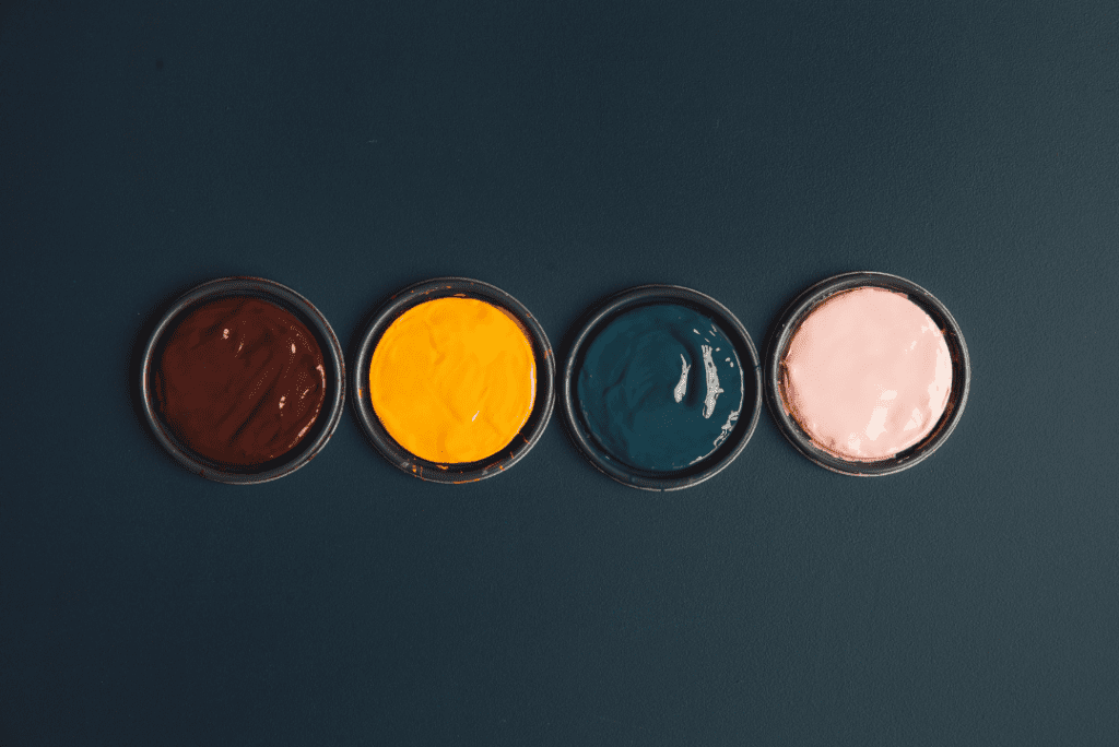 Interior paint can lids